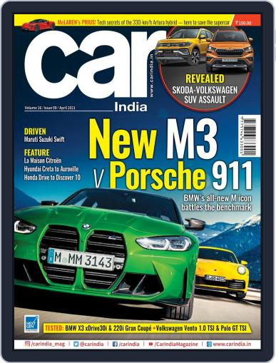 Car India Magazine (Digital) April 1st, 2021 Issue Cover