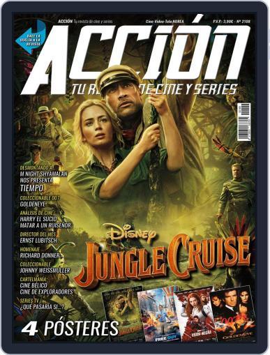 Accion Cine-video Magazine (Digital) August 1st, 2021 Issue Cover
