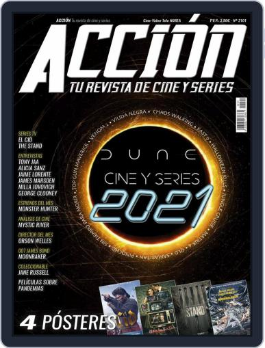 Accion Cine-video Magazine (Digital) January 1st, 2021 Issue Cover