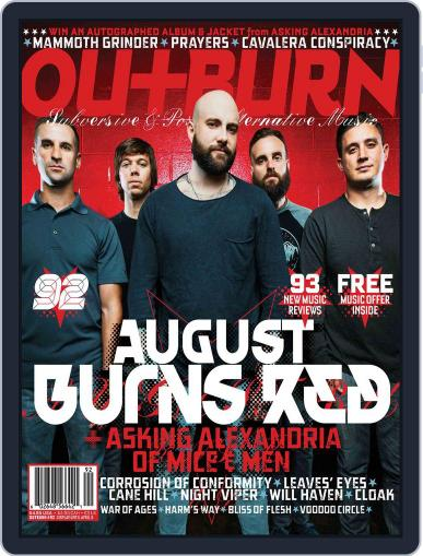 Outburn April 5th, 2018 Digital Back Issue Cover