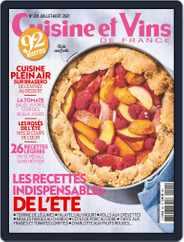 Cuisine Et Vins De France Magazine (Digital) Subscription July 1st, 2021 Issue