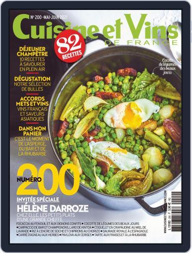 Cuisine Et Vins De France Magazine (Digital) May 1st, 2021 Issue Cover
