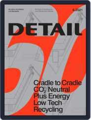 Detail Magazine (Digital) Subscription June 1st, 2021 Issue