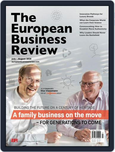 The European Business Review Magazine (Digital) July 1st, 2020 Issue Cover