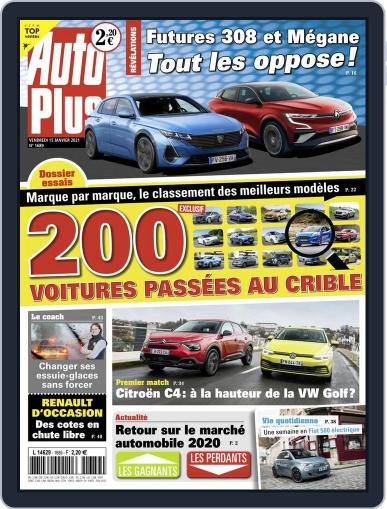 Auto Plus France Magazine (Digital) January 15th, 2021 Issue Cover