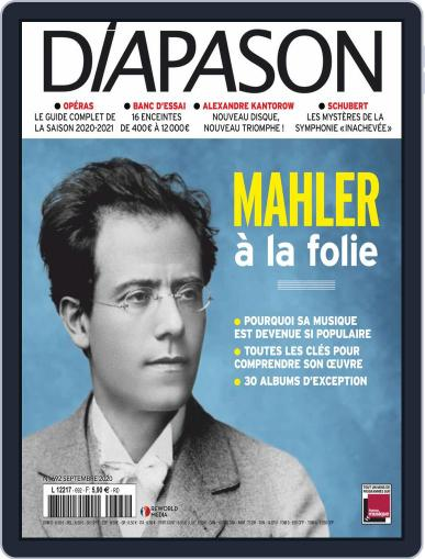 Diapason Magazine (Digital) September 1st, 2020 Issue Cover