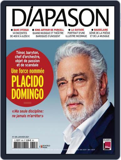 Diapason Magazine (Digital) January 1st, 2021 Issue Cover