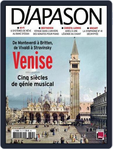 Diapason Magazine (Digital) June 1st, 2021 Issue Cover