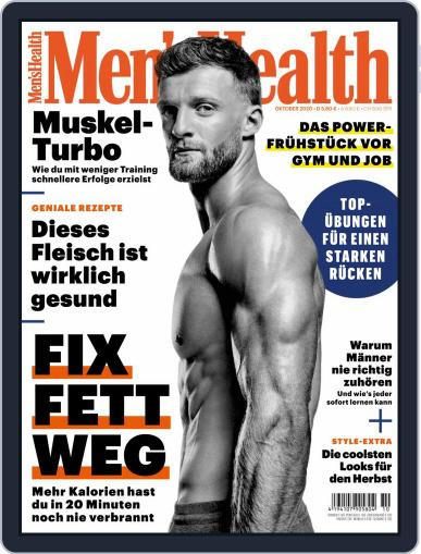 Men's Health Deutschland Magazine (Digital) October 1st, 2020 Issue Cover