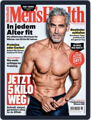 Men's Health Deutschland Magazine (Digital) November 1st, 2021 Issue Cover