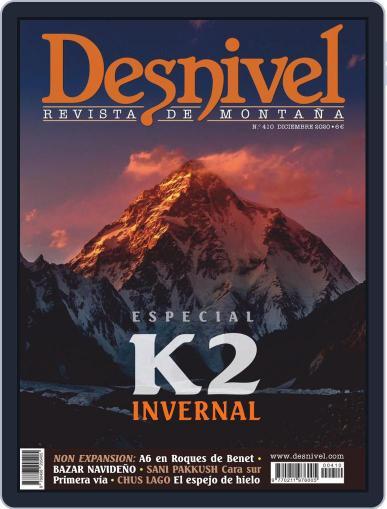 Desnivel Magazine (Digital) December 15th, 2020 Issue Cover