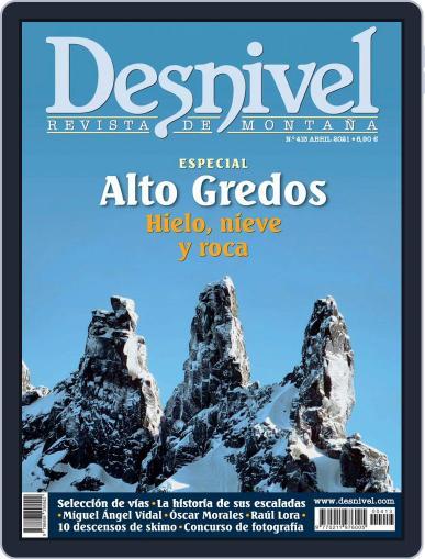 Desnivel Magazine (Digital) April 1st, 2021 Issue Cover