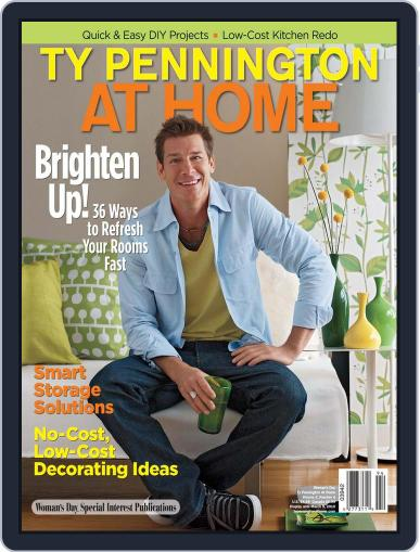 Ty Pennington At Home (Digital) December 1st, 2009 Issue Cover