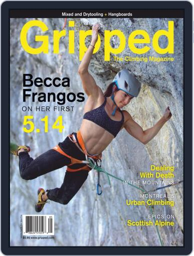 Gripped: The Climbing Magazine (Digital) October 1st, 2020 Issue Cover