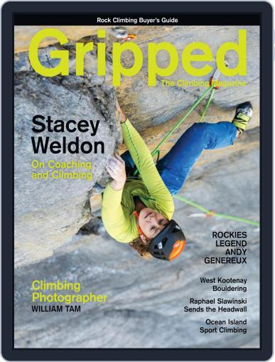 Gripped: The Climbing Magazine (Digital) April 1st, 2021 Issue Cover