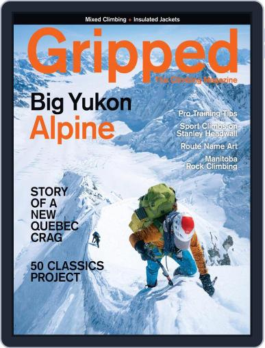 Gripped: The Climbing Magazine (Digital) October 1st, 2021 Issue Cover