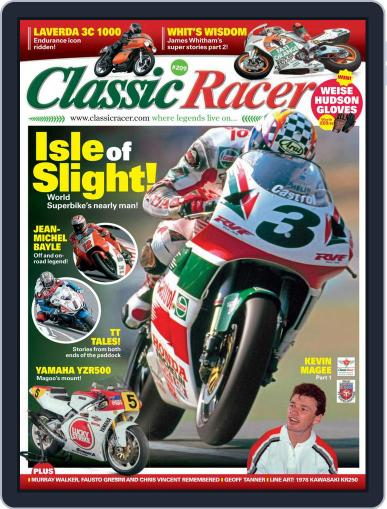 Classic Racer Magazine (Digital) May 1st, 2021 Issue Cover