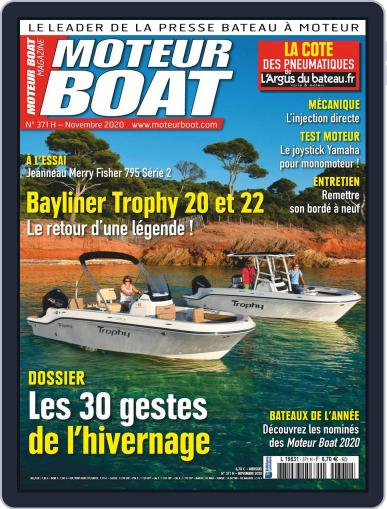 Moteur Boat Magazine (Digital) October 9th, 2020 Issue Cover
