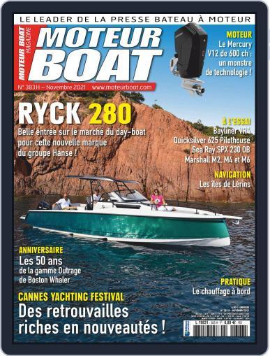 Moteur Boat Magazine (Digital) November 1st, 2021 Issue Cover