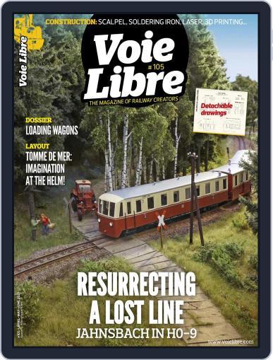 Voie Libre International Magazine (Digital) April 1st, 2021 Issue Cover