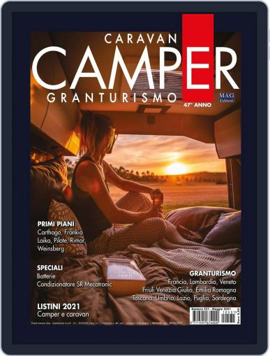 Caravan E Camper Granturismo Magazine (Digital) May 1st, 2021 Issue Cover