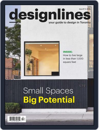 DESIGNLINES Magazine (Digital) March 25th, 2020 Issue Cover