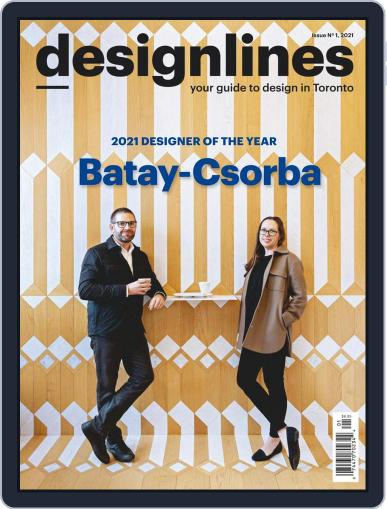 DESIGNLINES Magazine (Digital) February 17th, 2021 Issue Cover