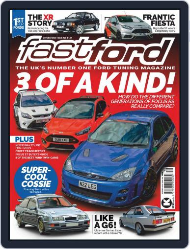 Fast Ford Magazine (Digital) October 1st, 2020 Issue Cover