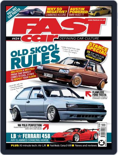 Fast Car Magazine (Digital) July 1st, 2021 Issue Cover
