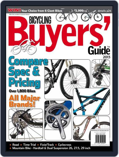 Bicycling Buyers' Guide (Digital) November 22nd, 2012 Issue Cover