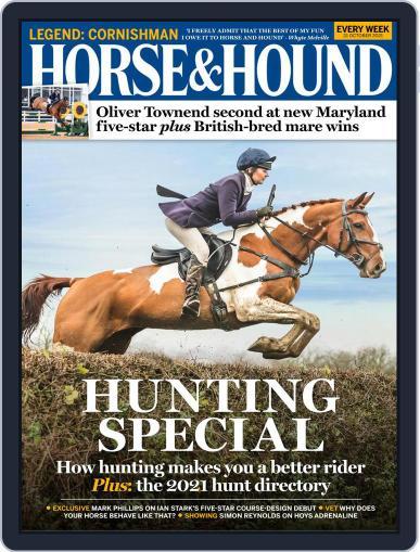 Horse & Hound Magazine (Digital) October 21st, 2021 Issue Cover