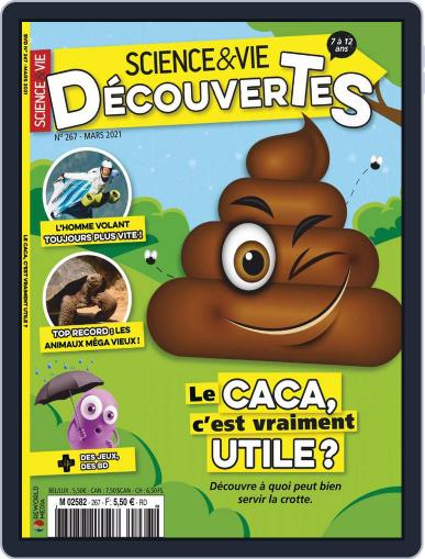 Science & Vie Découvertes Magazine (Digital) March 1st, 2021 Issue Cover