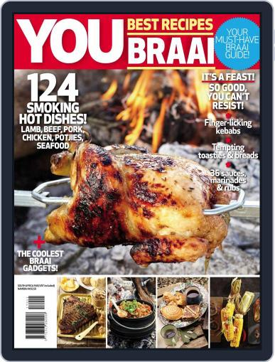 You Best Braai Recipes January 1st, 2017 Digital Back Issue Cover
