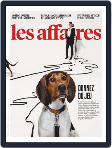 Les Affaires Magazine (Digital) January 1st, 2021 Issue Cover