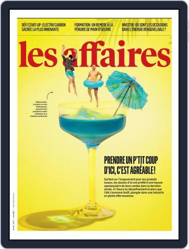 Les Affaires Magazine (Digital) June 1st, 2021 Issue Cover