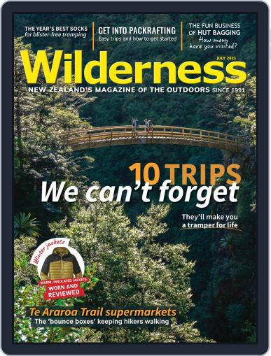 Wilderness Magazine (Digital) July 1st, 2021 Issue Cover