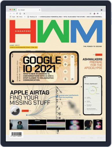HWM Singapore Magazine (Digital) June 1st, 2021 Issue Cover