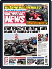 Motorsport News Magazine (Digital) Subscription July 22nd, 2021 Issue