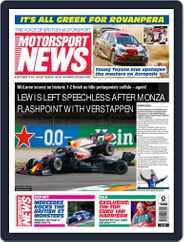 Motorsport News Magazine (Digital) Subscription September 16th, 2021 Issue