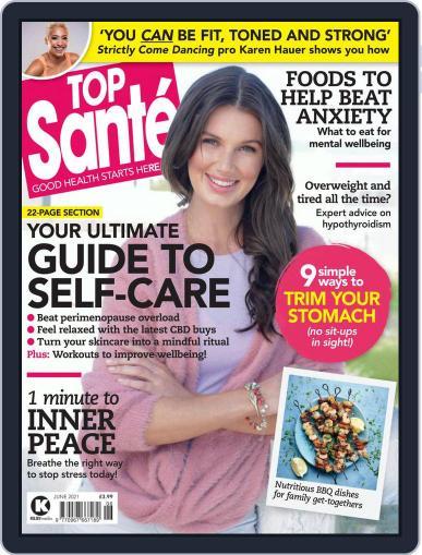Top Sante Magazine (Digital) June 1st, 2021 Issue Cover