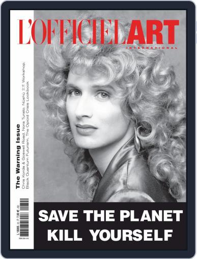 L'officiel Art Magazine (Digital) April 1st, 2020 Issue Cover