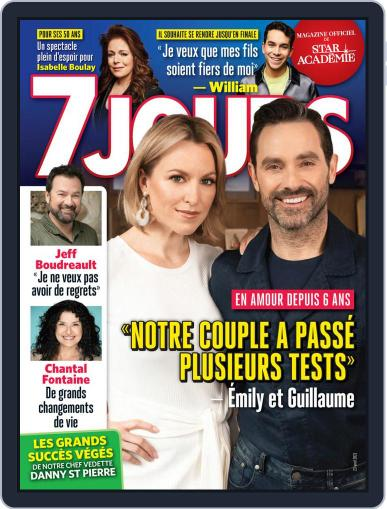 7 Jours Magazine (Digital) April 23rd, 2021 Issue Cover