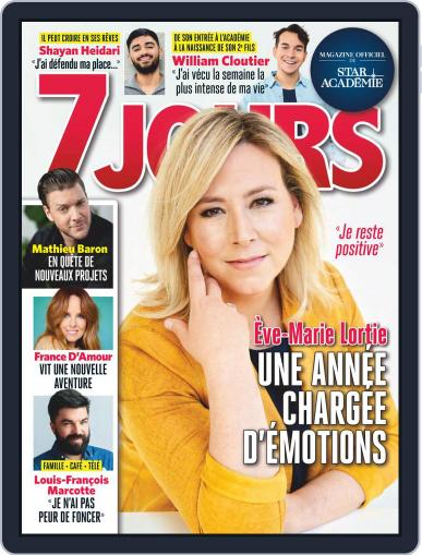 7 Jours Magazine (Digital) March 5th, 2021 Issue Cover