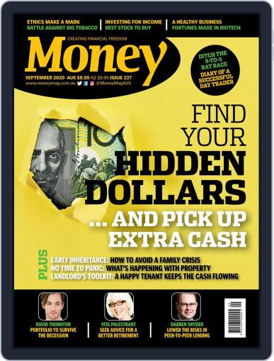 Money Australia Magazine (Digital) September 1st, 2020 Issue Cover