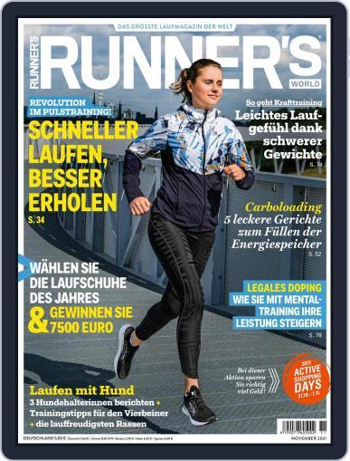 Runner's World Deutschland Magazine (Digital) November 1st, 2021 Issue Cover