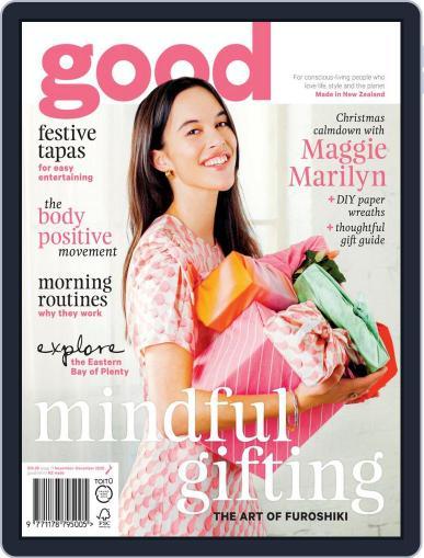 Good Magazine (Digital) November 1st, 2020 Issue Cover