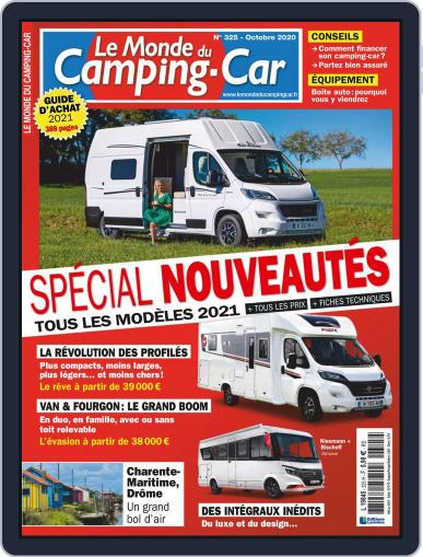 Le Monde Du Camping-car Magazine (Digital) September 1st, 2020 Issue Cover