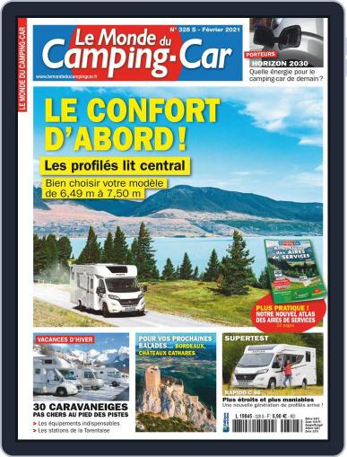 Le Monde Du Camping-car Magazine (Digital) February 1st, 2021 Issue Cover