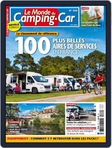 Le Monde Du Camping-car Magazine (Digital) June 1st, 2021 Issue Cover