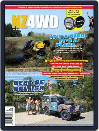 NZ4WD Magazine (Digital) July 1st, 2021 Issue Cover